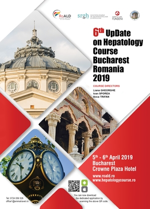 Poza eveniment - 6th UpDate on Hepatology Course Bucharest Romania 2019