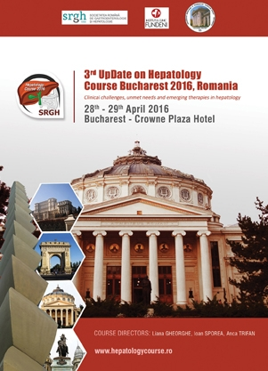 Poza eveniment - 3rd UpDate on Hepatology Course Bucharest Romania 2016