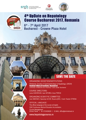 Poza eveniment - 4th UpDate on Hepatology Course Bucharest Romania 2017